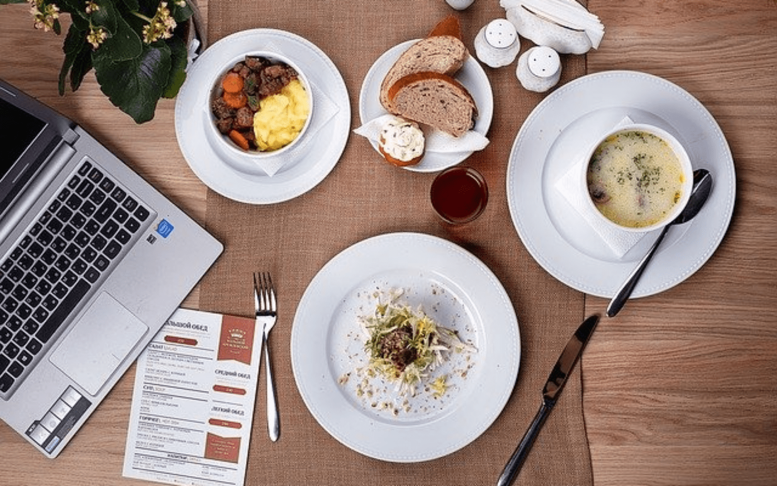 5 tips for a successful business lunch